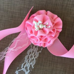 Wedding, prom, party handmade wrist corsage